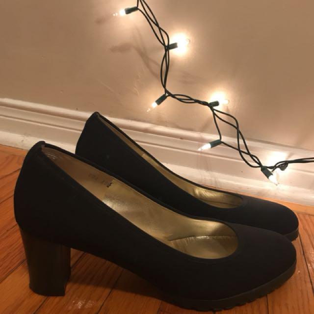 Ron white kitten heels