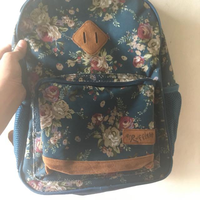 Ruffles Backpack 🎒