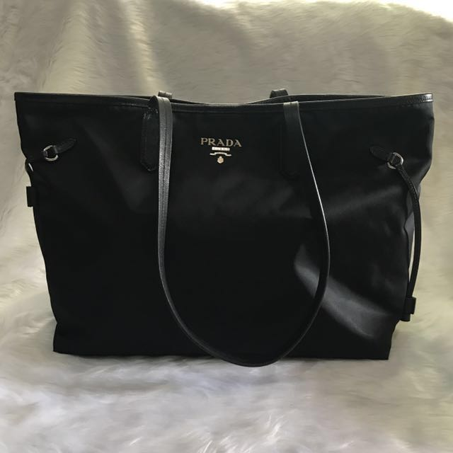 f73028d14358 RUSH SALE Authentic Prada Shopping Tote like Louis Vuitton Neverfull ...