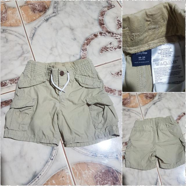 SALE! Baby Gap Cargo Shorts