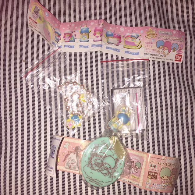Sanrio雙子星 扭蛋