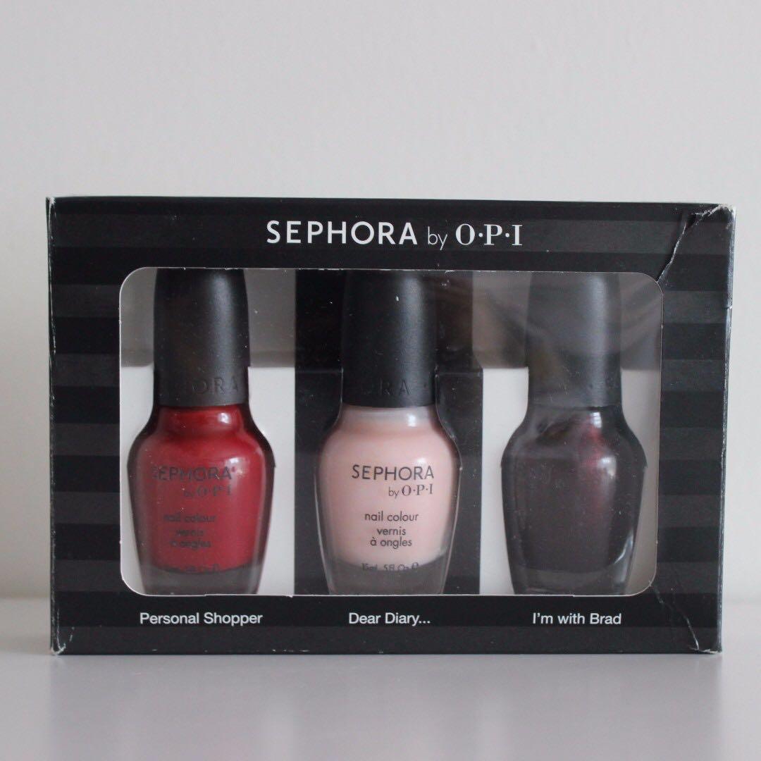 Sephora by OPI Nail Polish Kit