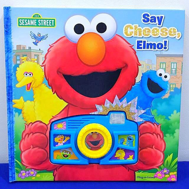 SESAME STREET Say Cheese! Elmo Sound Board Book