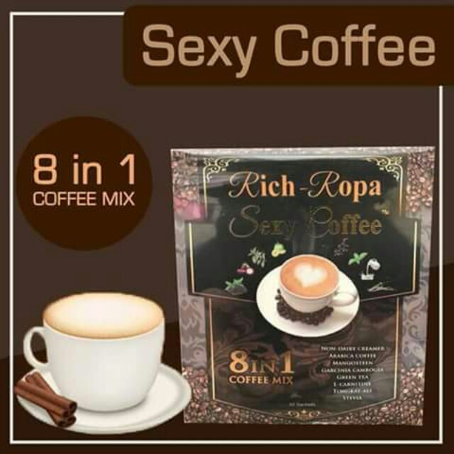 Sexy coffee 8 in 1