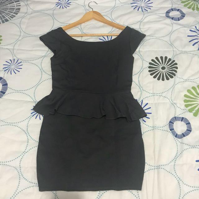 Sexy Peplum Bodycon Dress