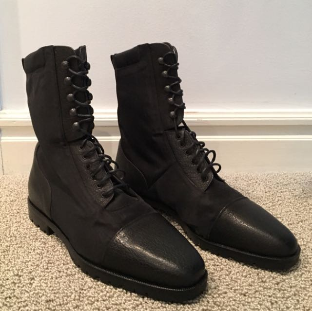 Simard & Voyer leather boots