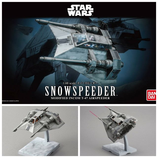 Snowspeeder Bandai Model Kit