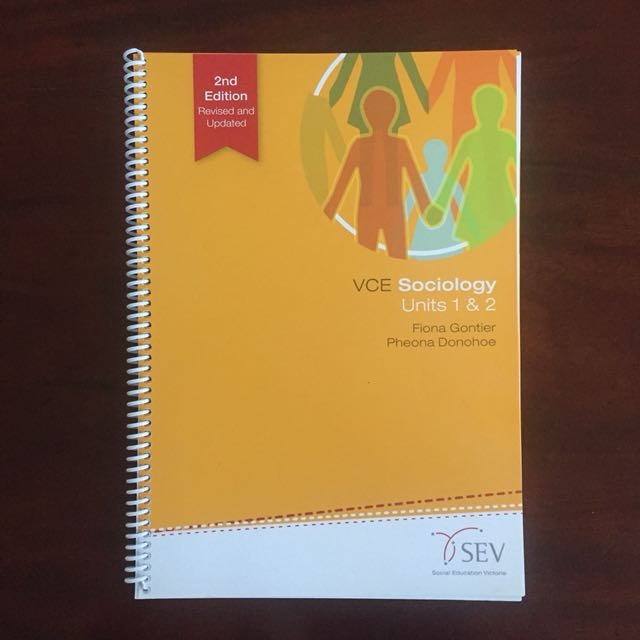Sociology VCE Units 1 and 2 textbook