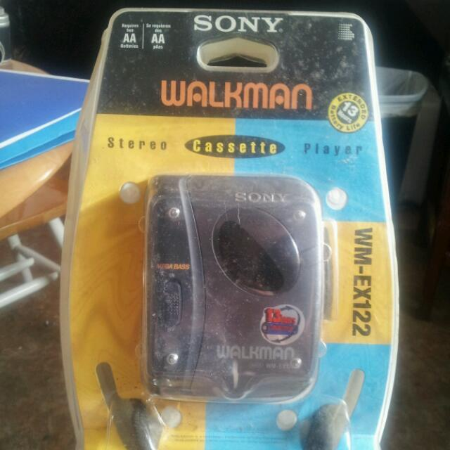 SONY WALKMAN CASSETTE PLAYER, NEVER OPENED...