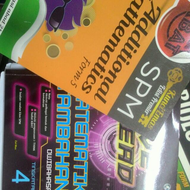 spm notes & books, Textbooks on Carousell