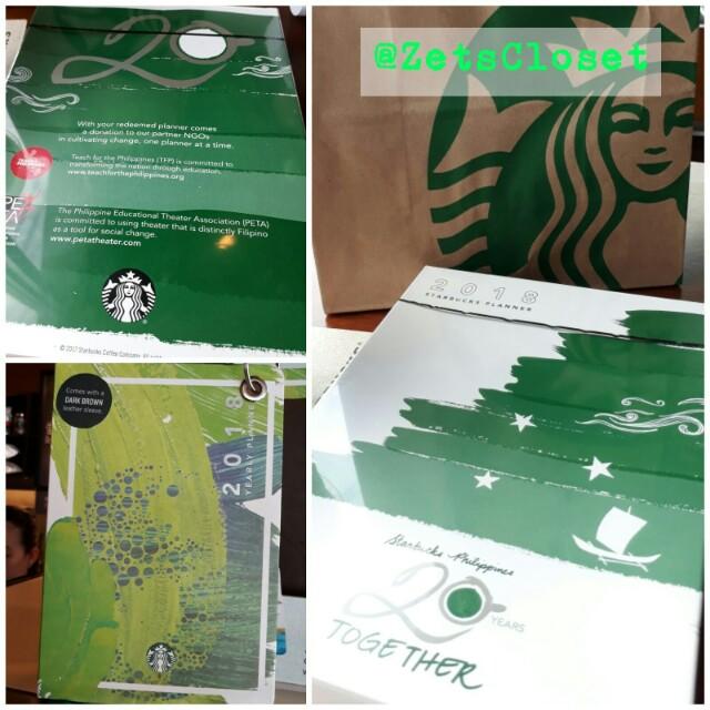 *Starbucks 2018 Planner*