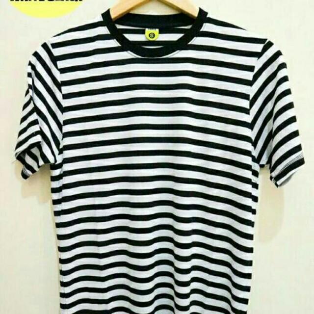 Stripes Tees Ready size S,M,L,XL