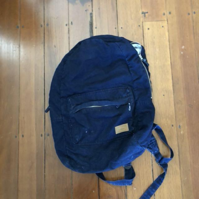 Stussy navy backpack
