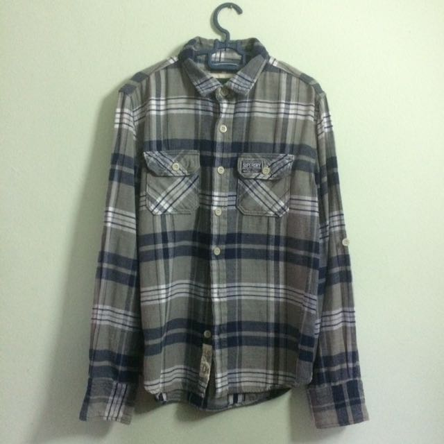 Superdry flannel top