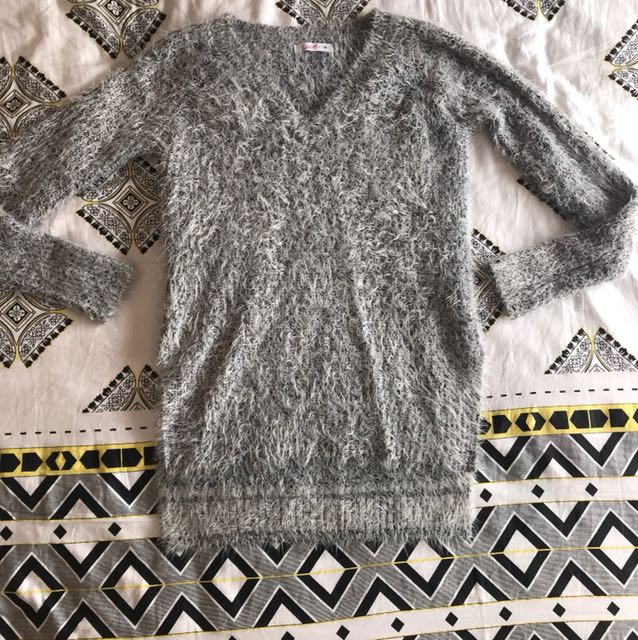 Supre Grey Long tailed Knit