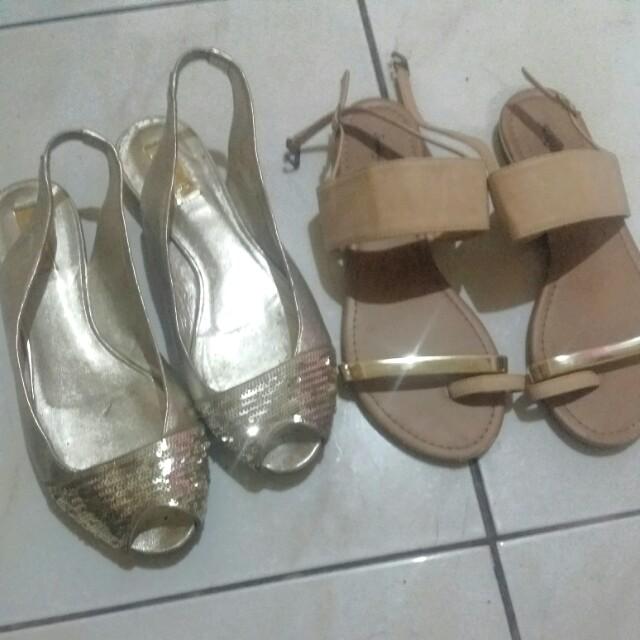 Take BOTH!! Sandals