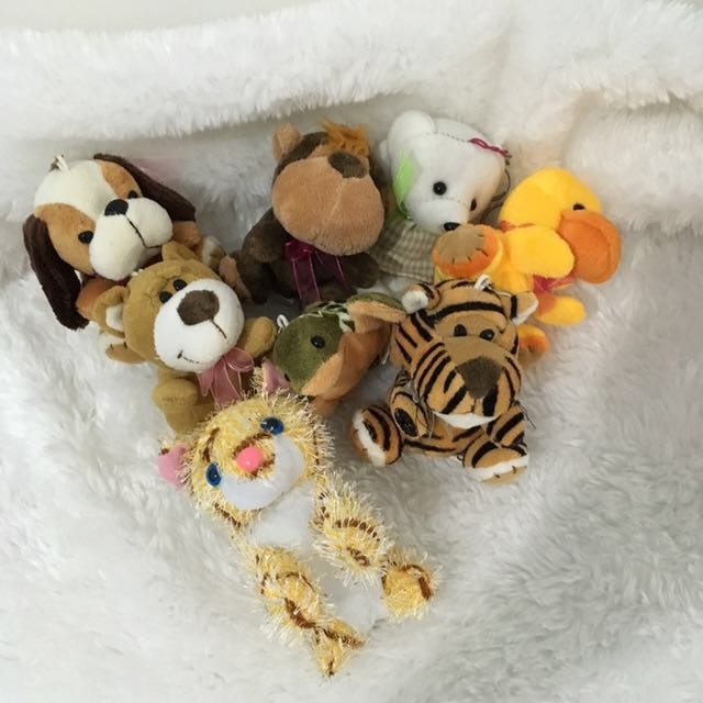 Take-all Bundle Unused Keychain Stuff Toys