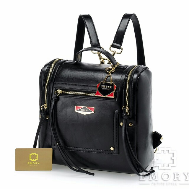 Tas branded  E M O R Y  Olivia 01EMO1472*  Measurement : Base   25 cm Height   28 cm Weight  1.2 kg Material Faux Calf  leather ORIGINAL Brand  Ready 6 pilihan warna