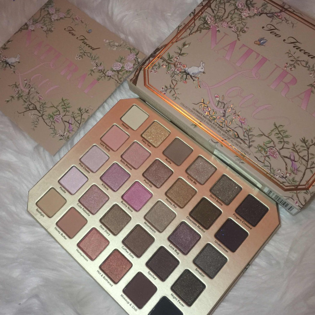 TooFaced Naturals Palette
