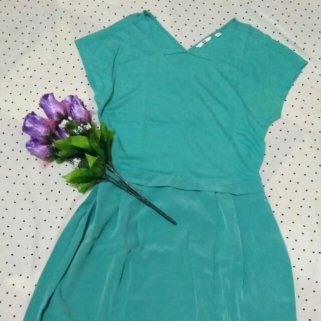 Uniqlo Midi dress tosca