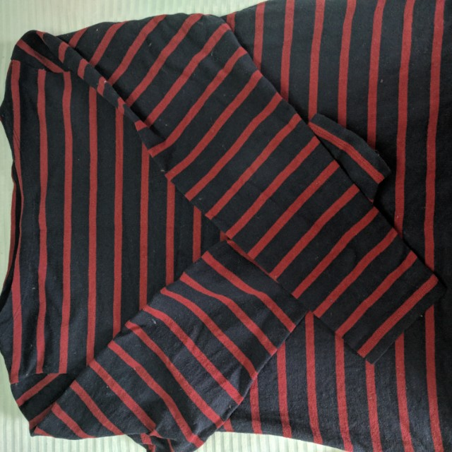 Uniqlo Striped Thick Shirt