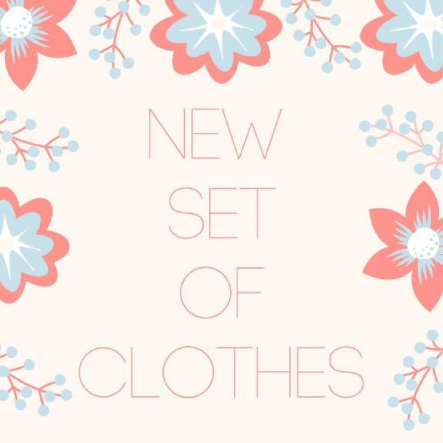 Uploading new sets of affordable and branded clothes