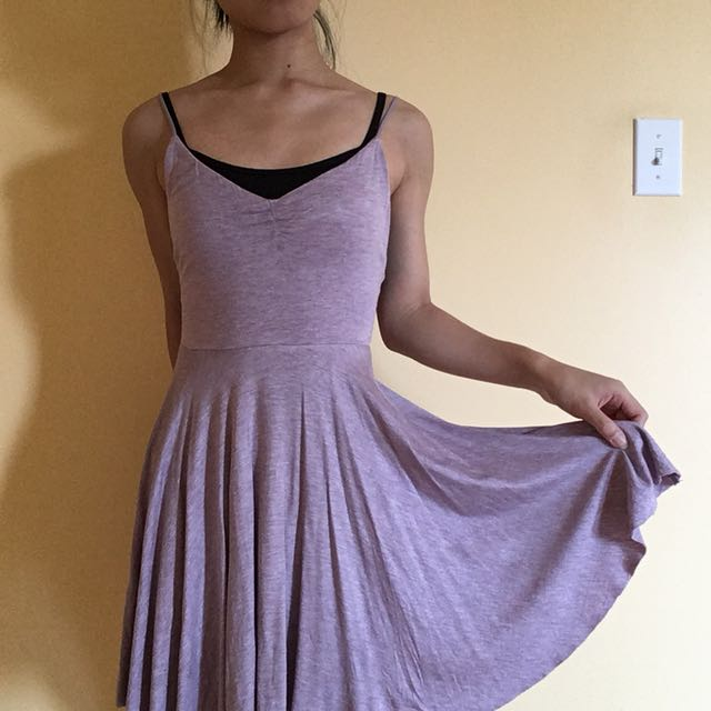 Urban Outfitters Lilac Jersey Dress