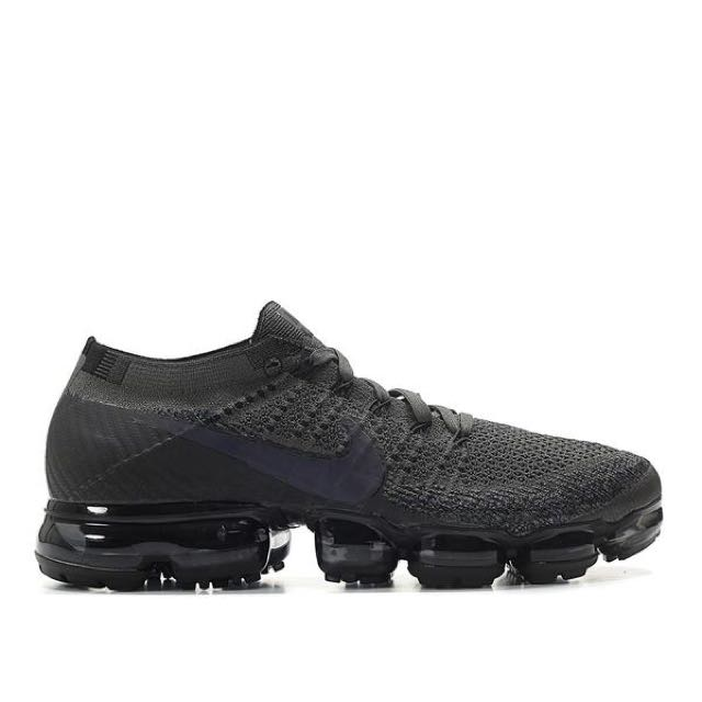 US8-11 Nike Air Vapormax Flyknit Anthracite Black