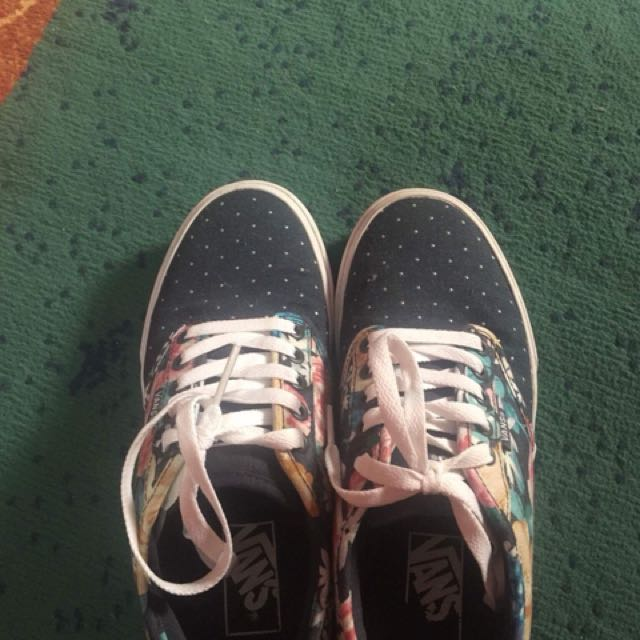 Vans Floral Rubber Shoes