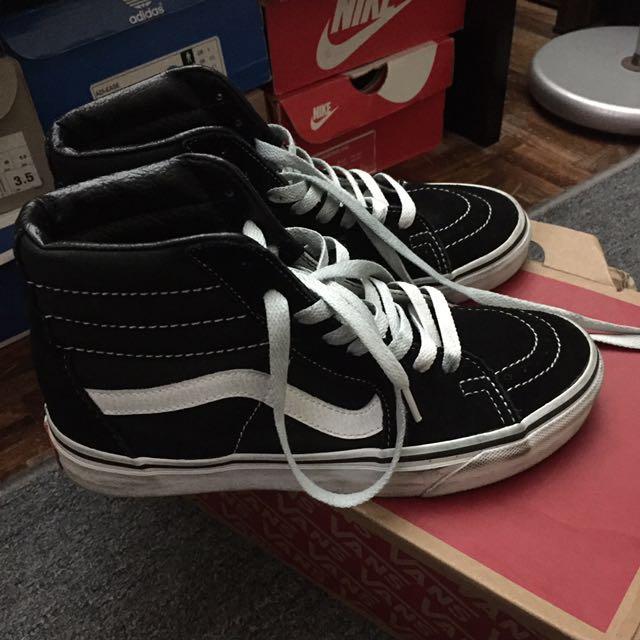 Vans Sk8-Hi skateboarding shoes (authentic)