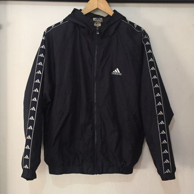 Vintage Adidas Adidas Ribbon Side 3598 Tape Logo Jacket, Moda Side Hombre, Ropa a741395 - www.xrm.website