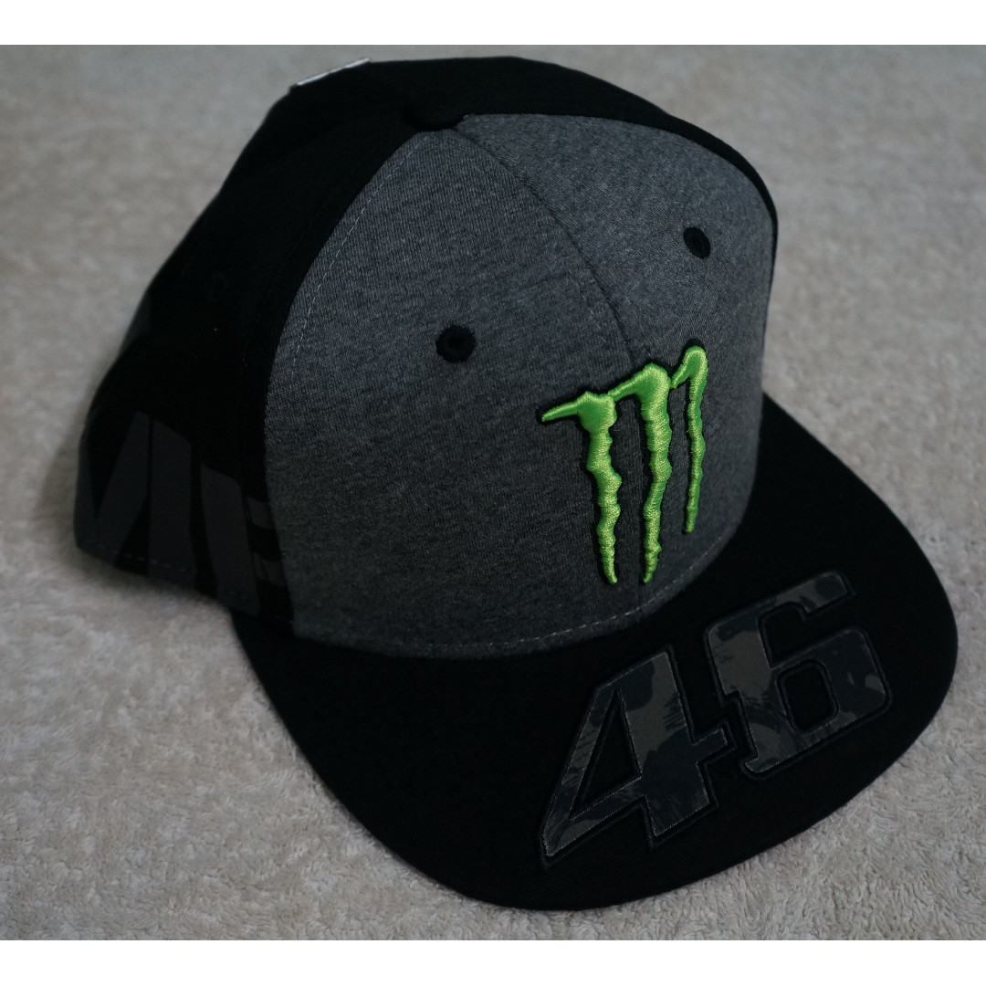 Valentino Rossi VR46 Monster Camp adjustable trucker Cap ab940f0aad