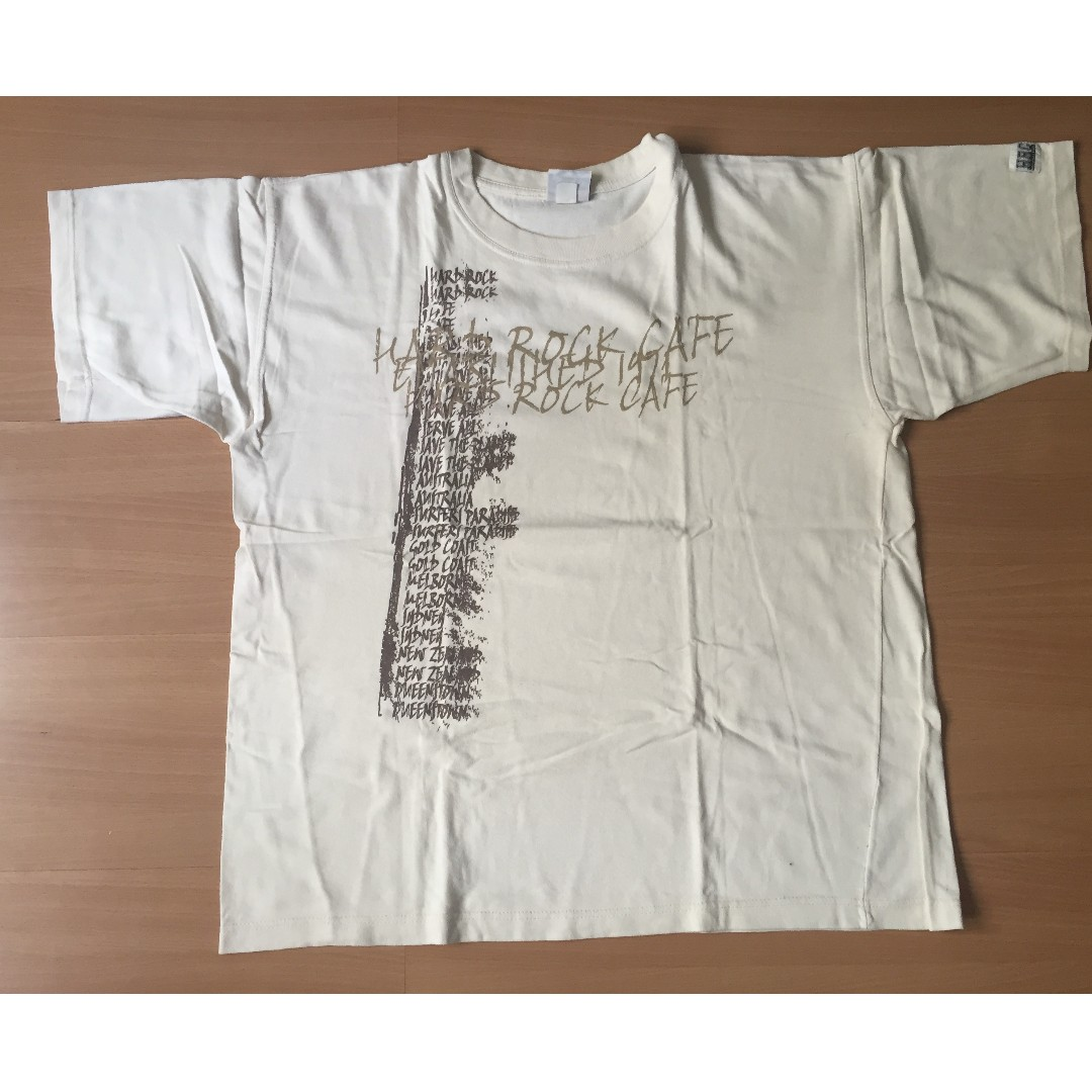 White T-Shirt for Men by Hard Rock Cafe (Authentic)