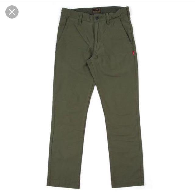 Wtaps Buds Skinny Pants Olive Size 1