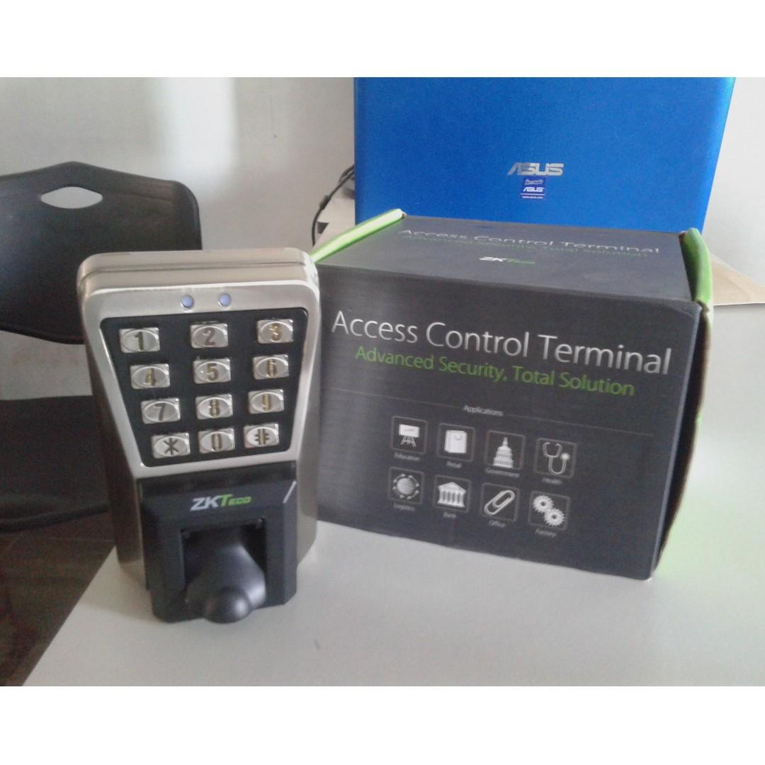MA500 Magnetic Doorlock with Biometrics