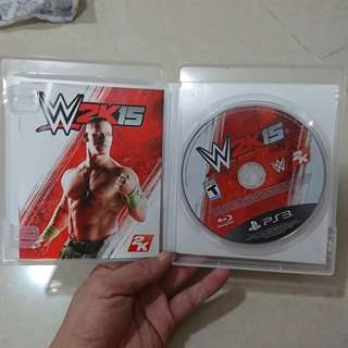 PS3 Games WWE 2K15