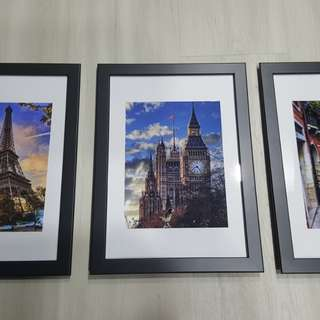 Wall poster picture frame