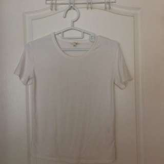 White Wilfred tee XS
