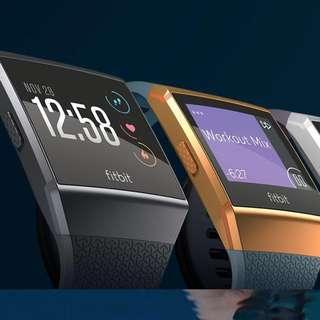 Fitbit Ionic Smartwatch (Char/Smoke Grey)