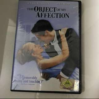 The Object of My Affection Movie DVD