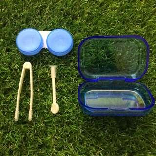 Cute contact lens travel kits