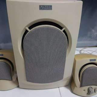 Altec Lansing Avs300 computer speakers