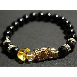 Semi-Precious Stone Wrist Bracelet (Unisex / Ladies)
