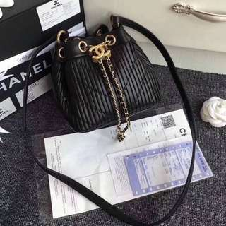 Chanel quilted Bucket bag 2018