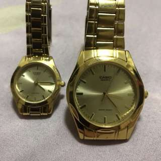 Casio couple watch.