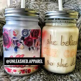 Customized Mason Jars