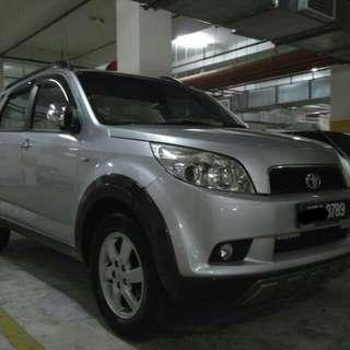 Toyota Rush 1.5S Auto full spec