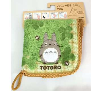 Totoro Zippered Cloth Pouch