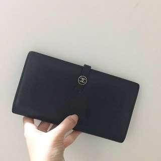 Chanel CC logo Long Wallet NOT Fendi Dior Hermes Prada Furla YSL POLO