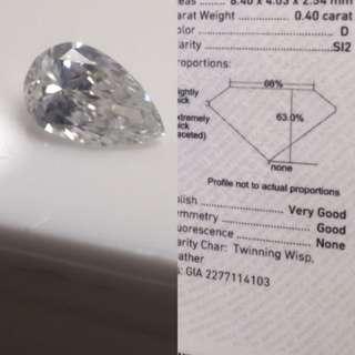 3500 HKD crazy price D colour diamond